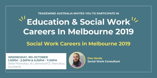 Social Work Careers In Melbourne 2019 - South Auckland