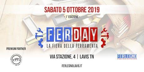 Ferday - I Edizione biglietti