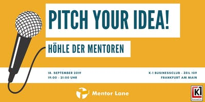 Pitch your Idea! - Höhle der Mentoren
