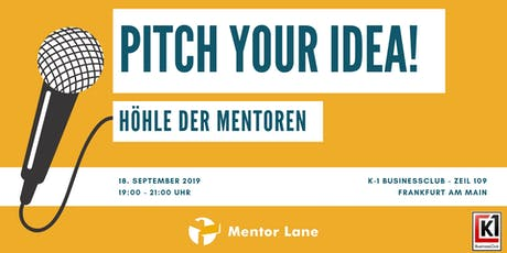 Pitch your Idea! - Höhle der Mentoren Tickets