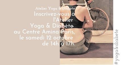Atelier Yoga & Diabète billets
