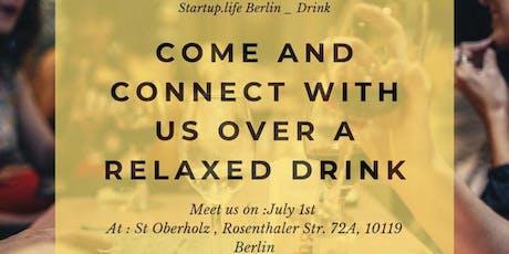 StartupLife DRINK tickets