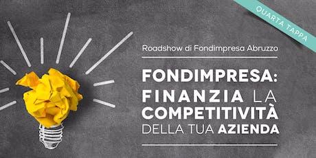 Fondimpresa: Finanzia la competitività della tua azienda biglietti