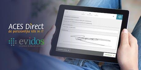 Efficiëntere bedrijfsprocessen door het inzetten van Digitaal Ondertekenen tickets