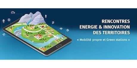 Rencontres Energie et Innovation des Territoires billets