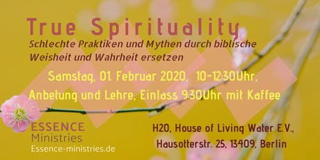True Spirituality tickets