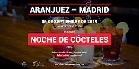 Noche de cócteles en Pause&Play El Deleite entradas