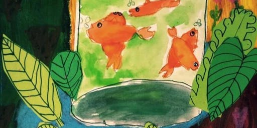 """YOUTH: Matisse Inspired Masterpieces, """"Fish Bowl Fun"""" with Mrs. Debi West"""