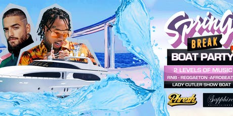 Spring Break Boat Party - Level 2: Latin Salsa Reggaeton Level 1:Rnb & Hip Hop tickets