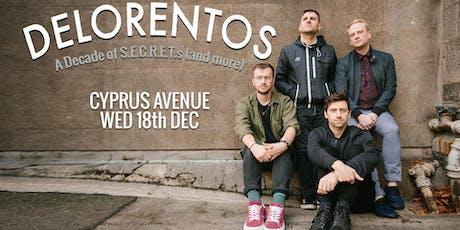 "DELORENTOS - A decade of ""S.E.C.R.E.T.S."" tour tickets"