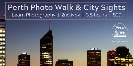 Perth Photo Walk & City Sights tickets