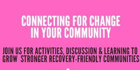 Connecting for Change in your Community tickets