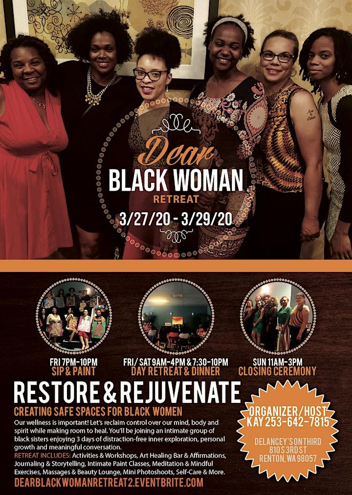 Dear Black Woman Retreat image