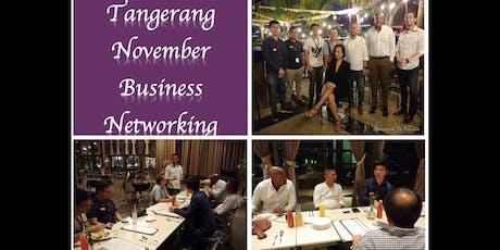 Tangerang November Professional Business Networkin tickets