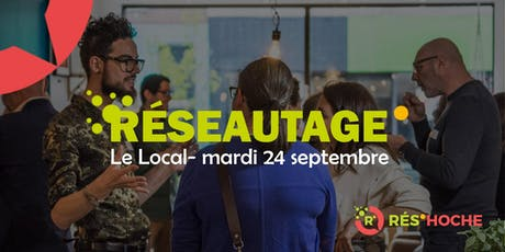 La rentrée des professionnels d'Hochelaga-Maisonneuve – Rés'Hoche #3 billets