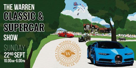 The Warren Classic and Supercar Show 2019 tickets
