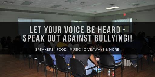 Let Your Voice Be Heard - Speak Out Against Bullying