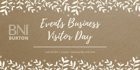 Events Business Visitor Day tickets