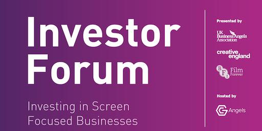 Investor Forum: Investing in Screen-Focused Businesses