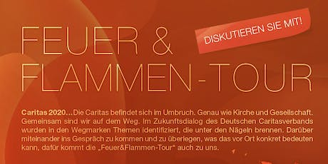 "Feuer & Flamme Tour ""Caritas in der digitalen Welt"" Tickets"