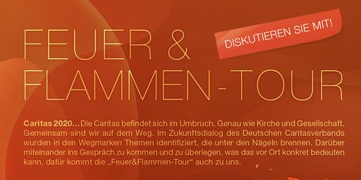 "Feuer & Flamme Tour ""Caritas in der digitalen Welt"""