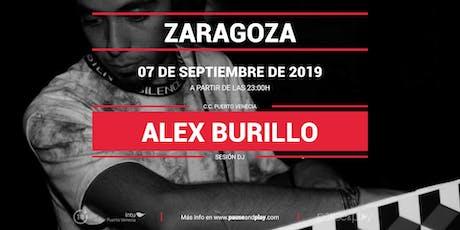 Sesión DJ Alex Burillo en Pause&Play Intu Puerto Venecia entradas