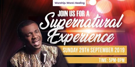 Worship with Nathaniel Bassey tickets