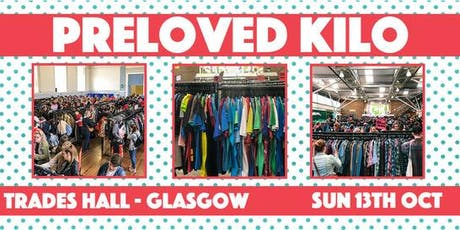 Glasgow Preloved Vintage Kilo tickets
