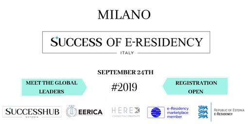 SUCCESS OF E-RESIDENCY ITALY
