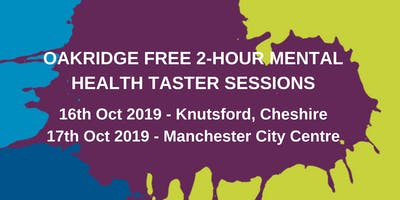 Free 2-Hour Mental Health Awareness Taster Sessions