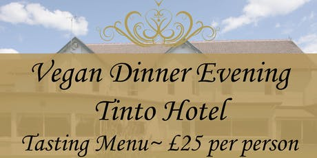 Vegan Dinner Evening tickets