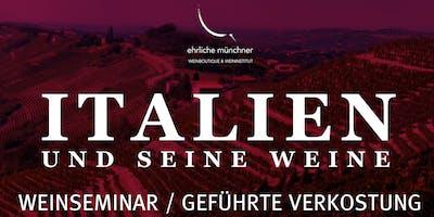 Weinseminar / geführte Verkostung – Italien und seine Weine