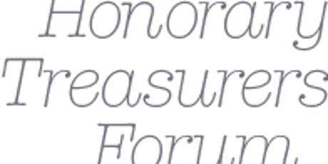 Honorary Treasurers Forum: 24 September 2019  tickets