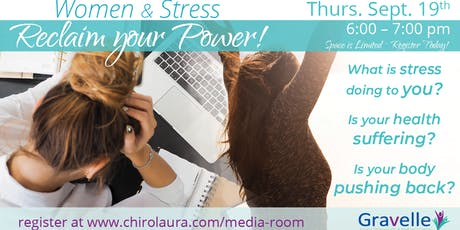 Women and Stress- Regain Your Power tickets
