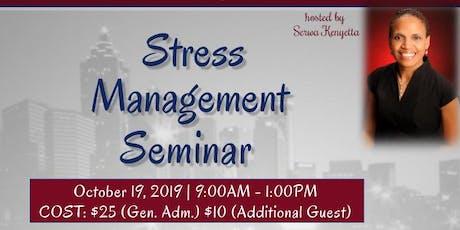Stress Management Seminar tickets