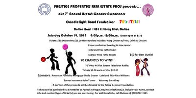 PPREP 7th Annual Breast Cancer Awareness Candlelight Bowl Fundraiser