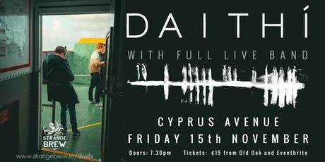 DAITHI  (full band show) tickets