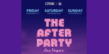 """THE AFTER PARTY"" - VEGAS(Friday) tickets"