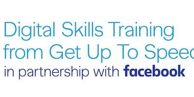 Digital Skills Training from Facebook -Social Marketing and Web Presence