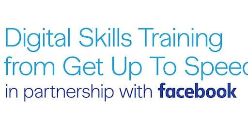 Social Marketing and Web Presence - Digital Skills Training from Facebook