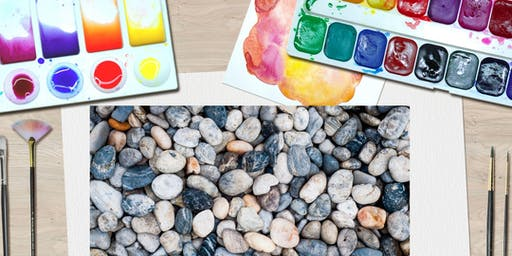 Rock Painting- Workshop for 6 – 8 year olds