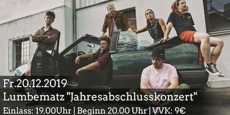 """Lumbematz """"Jahresabschluss-Konzert"""" Tickets"""