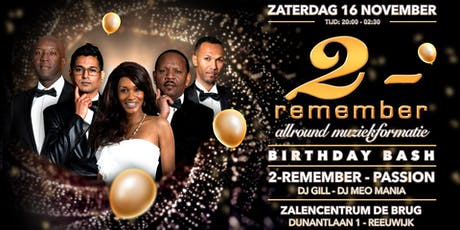 2-Remember Birthday Bash 2019 tickets