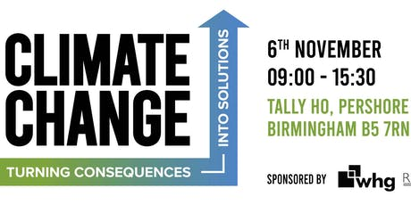 Climate Change Turning Consequences into Solutions tickets