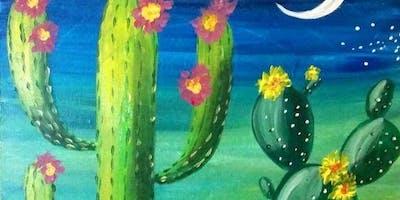 @Bondi: Blooming Cactus