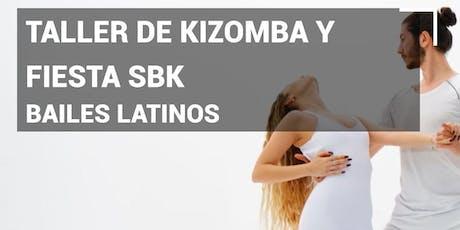 Bailes latinos Taller de Kizomba y Fiesta SBK en Pause&Play Durango entradas