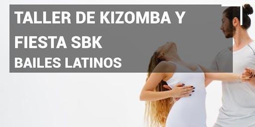 Bailes latinos Taller de Kizomba y Fiesta SBK en Pause&Play Durango