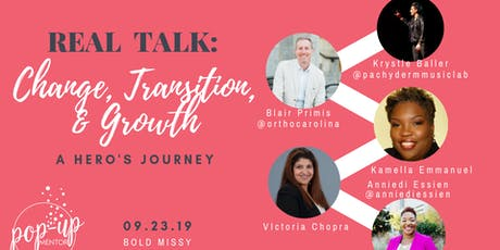 Real Talk: Change, Transitions, & Growth tickets