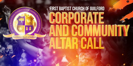 FBCOG Corporate and Community Altar Call tickets