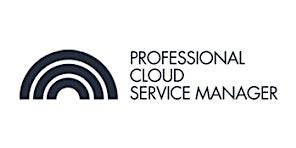 CCC-Professional Cloud Service Manager(PCSM) 3 Days Training in Edinburgh